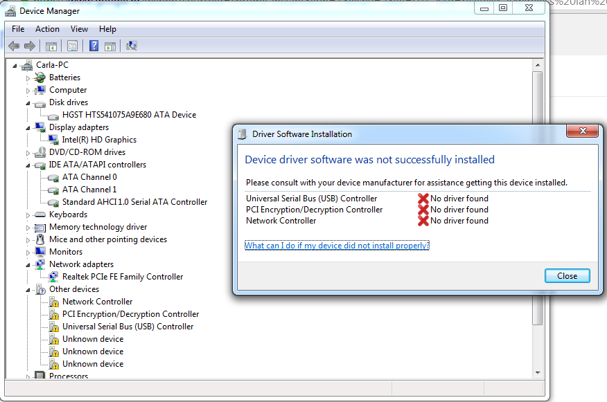 HP 15 p050sm - wireless drivers WINDOWS 7 (64-bit) - eehelp com