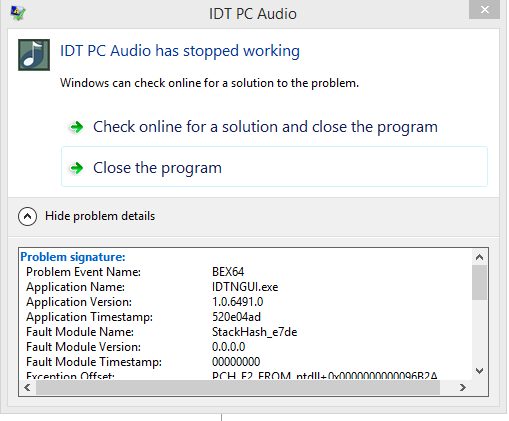 HP 15-5010 omen: Control Panel Audio Beats / HP Omen