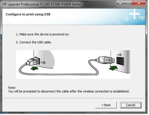 Resultado de imagen para hp printer usb cable connect