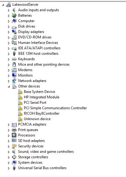 HP Elitebook 8470p driver problems - eehelp com