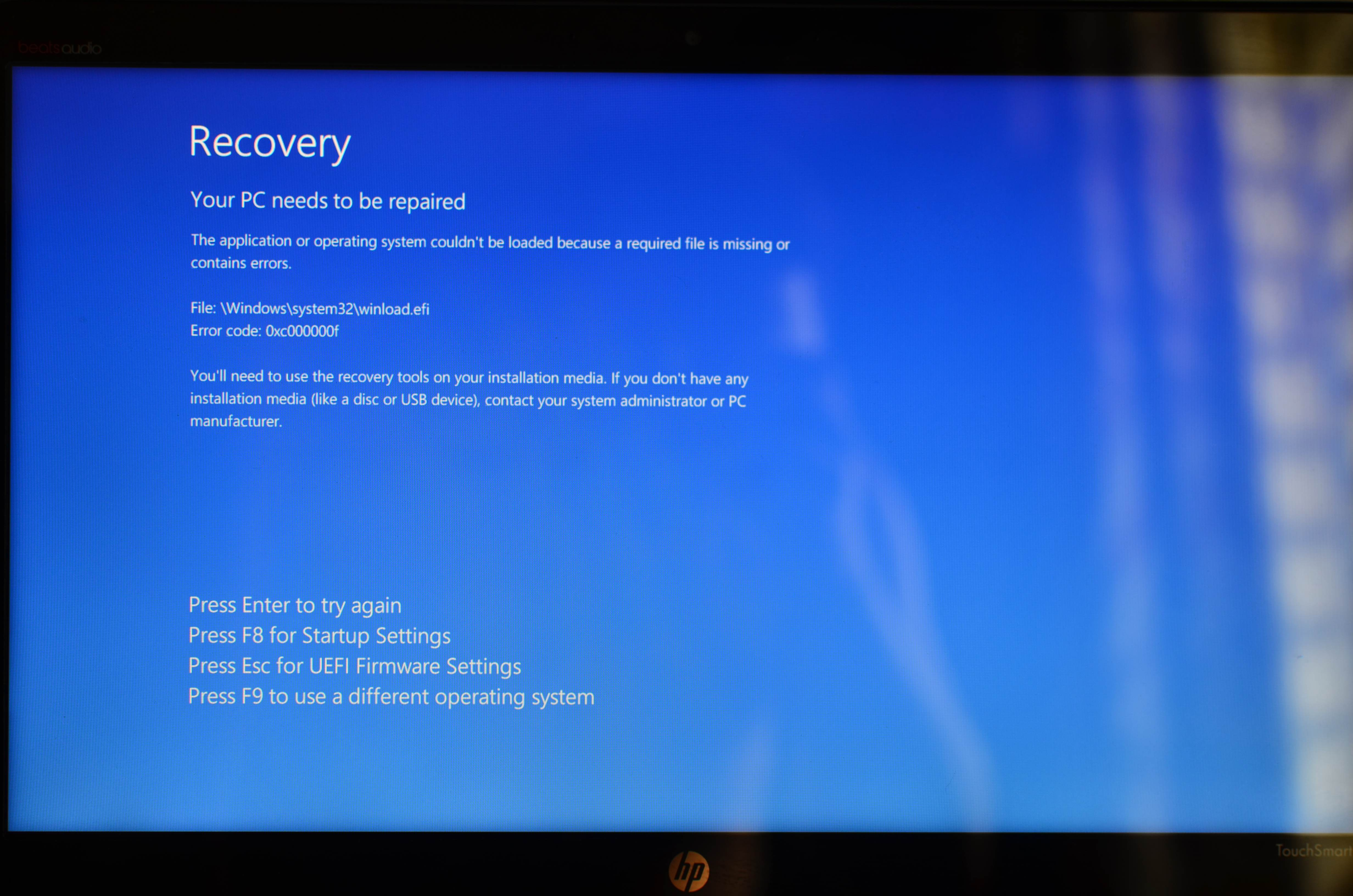 Recovery HP ENVY h8-1430 - eehelp com