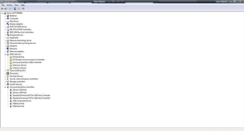 WX558AV: HP EliteBook 8460p Notebook PC driver issues