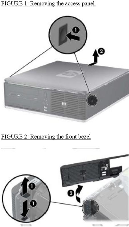 HP Compaq dc7900 small form Factor PC' - 4 TB HARD drive