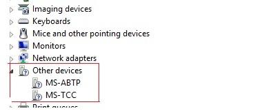 HP laptop - 15-r132wm: unknown device - device Instance path (ACPI