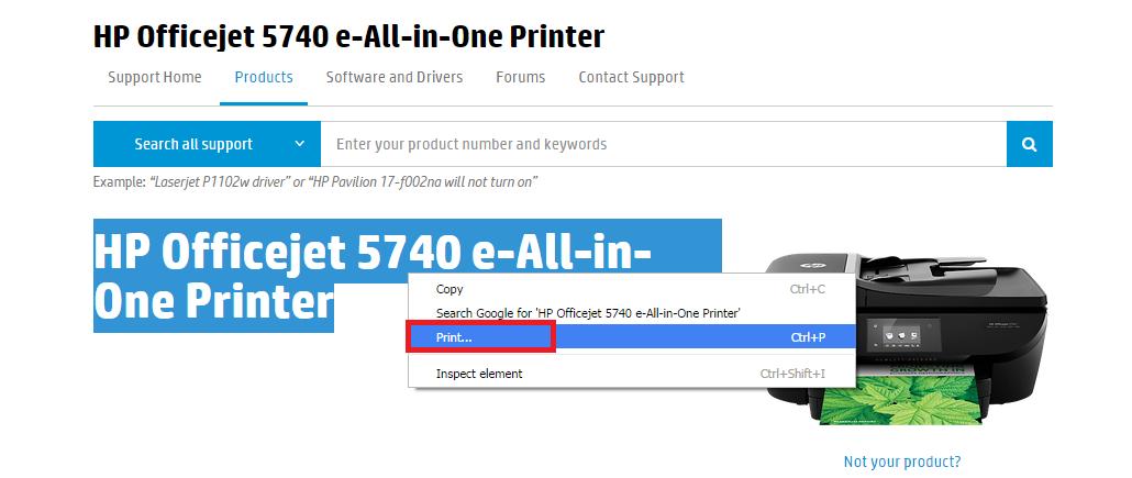 HP 5740 printer: printer hp 5740 - eehelp com
