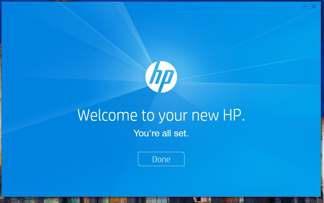 Solved How To Get Rid Of This Hp Welcome Screen Popup