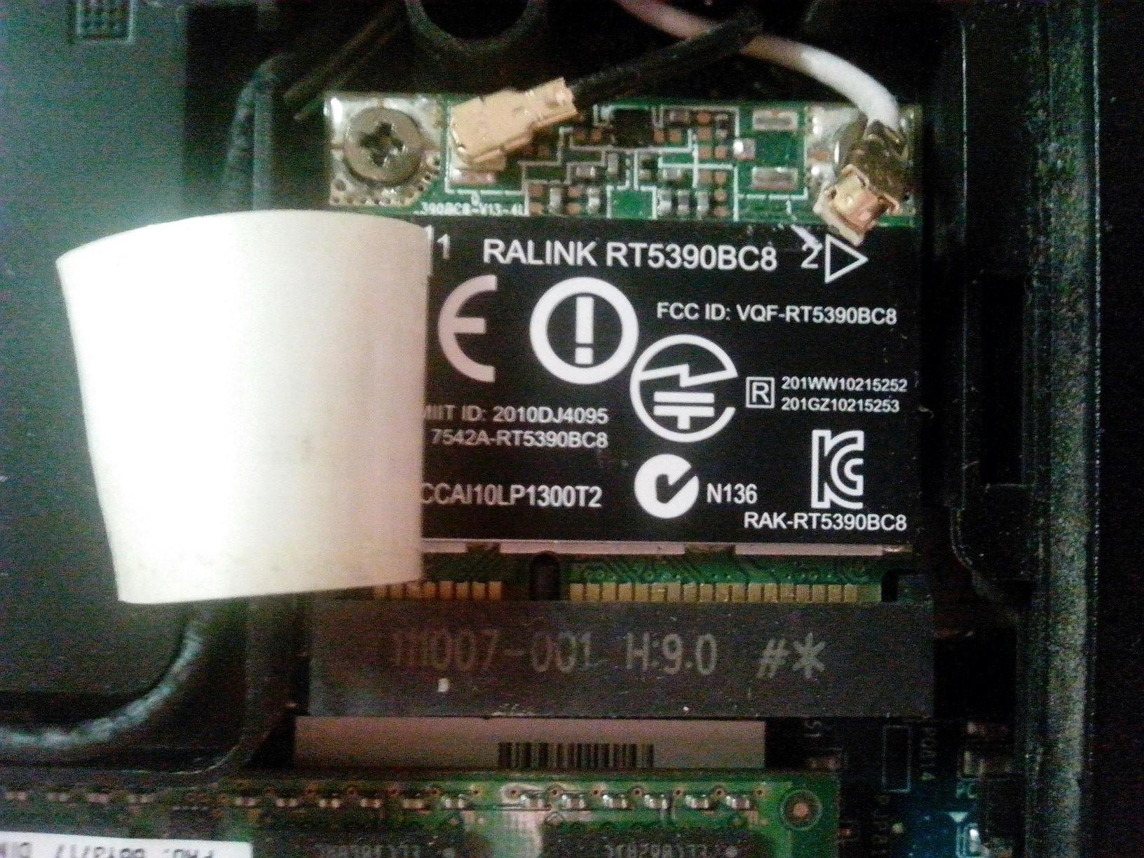 HP Pavilion dv6-6b56er: module WLAN 5 GHz for HP Pavilion