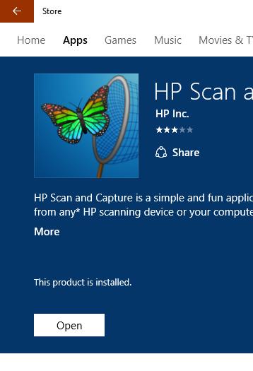 Windows 8 1 + HP Deskjet 3520 + HP Scan and capture - eehelp com