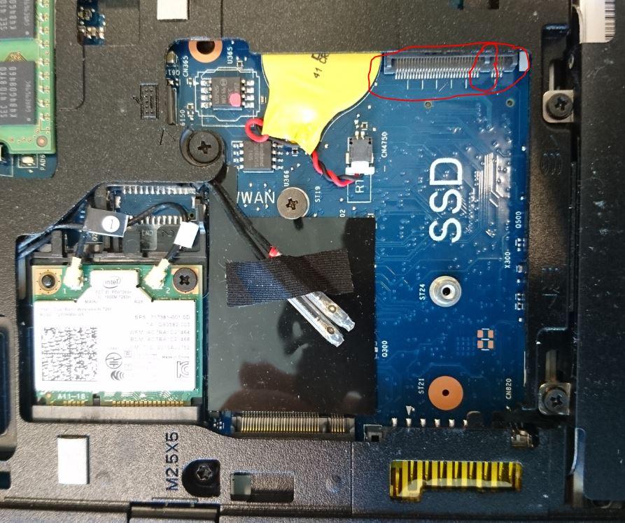 Elitbook 840 G1: HP Elitbook 840 g1 - M 2 SSD slot - eehelp com