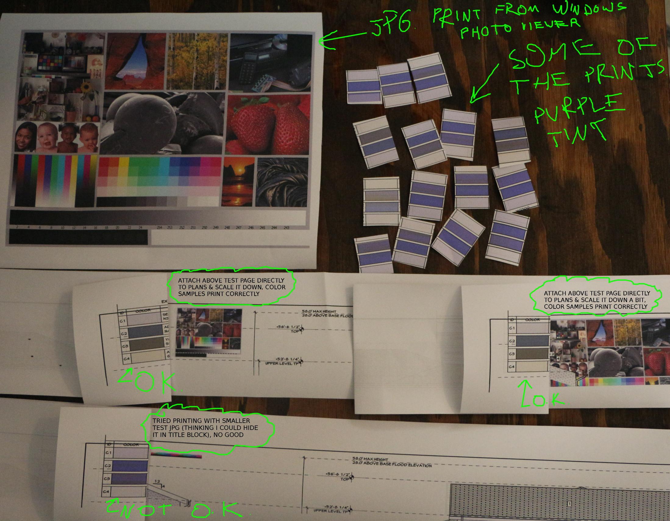 Image Result For Hp Color Plotter Test Page Samples