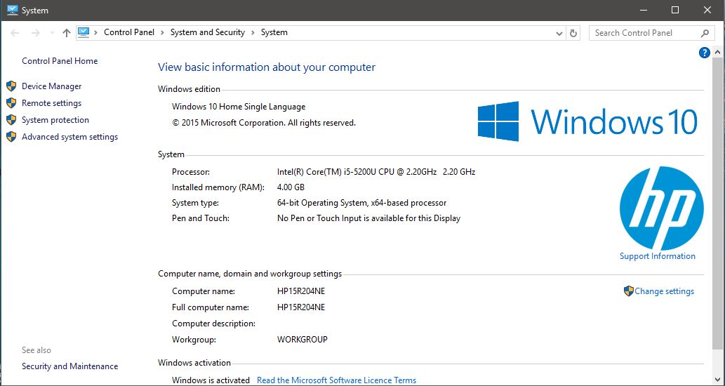 Laptop Hp 15 R204ne Ram Upgrade Eehelp Com