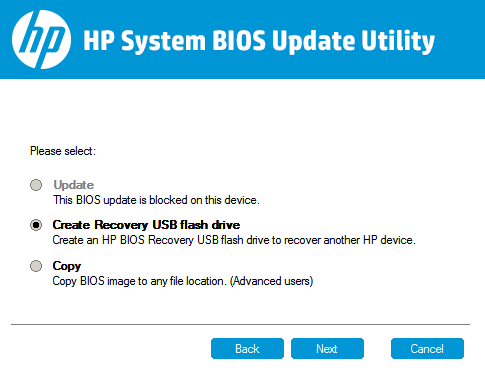 HP Pavilion 15-ab150sa: HP Notebook System BIOS update (and