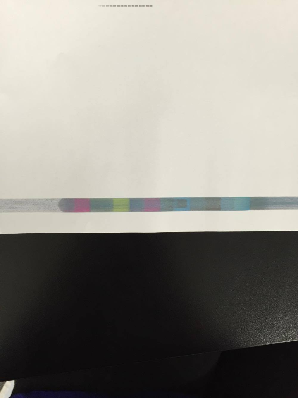 HP Color Laser Jet CM6040: scratches when printing CM6040