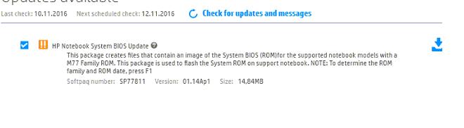 EliteBook Folio 1020 G1 SE: BIOS update failure - eehelp com
