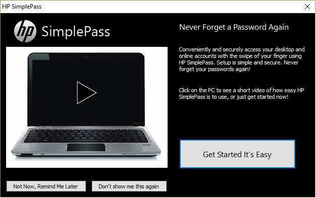 HP SimplePass version 6 is not functioning. - Page 2 - HP ...