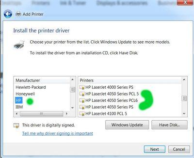 Add a printer 5a Laserjet 4050 .jpg