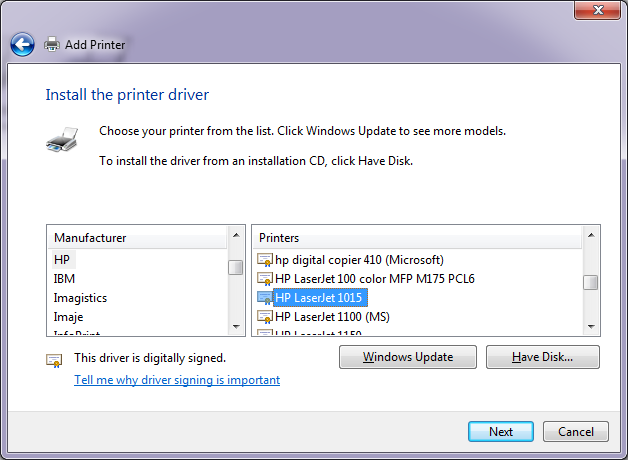 Driver for HP laserjet for windows in 64 bit PC - HP Support Forum -