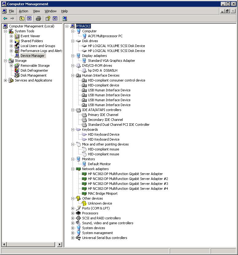 DL380 G5 64-bit vm - eehelp com