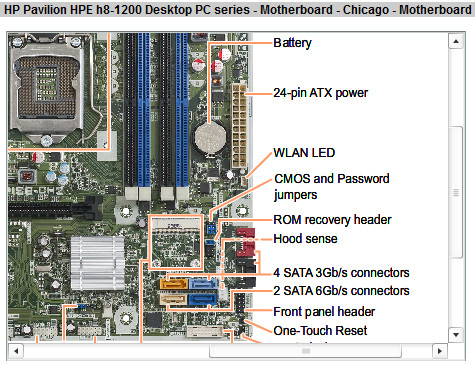 Solved What Motherboard Motherboard Is In Pavillion Hpe