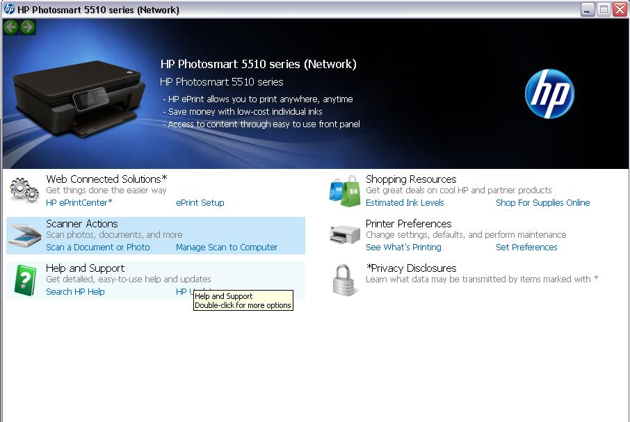 How to scan a document into word (HP Photosmart 7250)?
