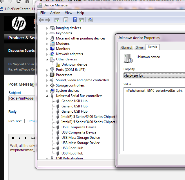 HP Photosmart 5510 Device Driver bad.PNG