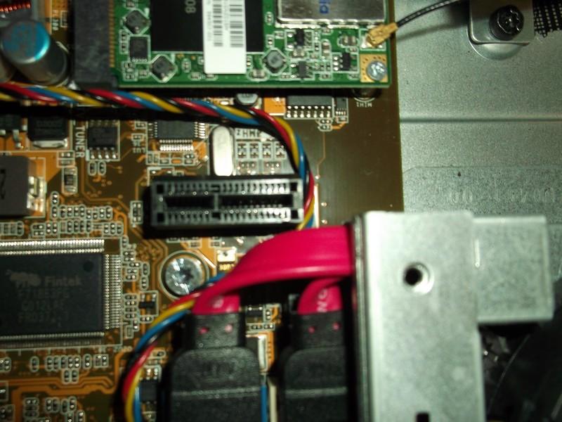 Motherboard Ethernet Socket