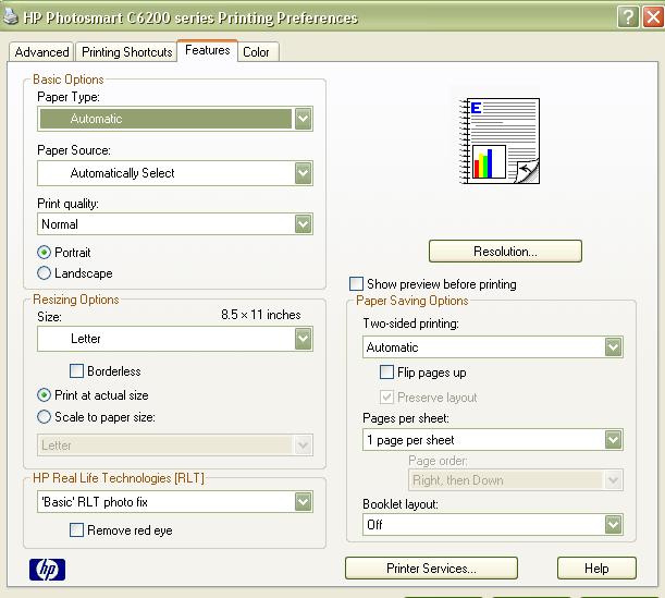 hp c6280 printer software