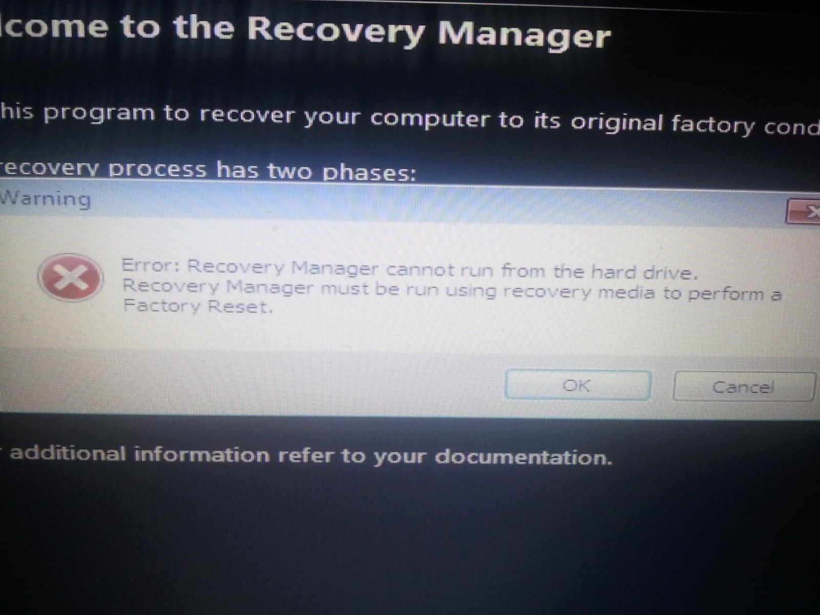 Pavilion Dv6 Recovery disk