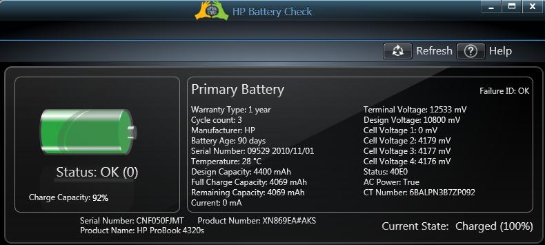 Hp Probook Battery Life Hp Support Forum 501511