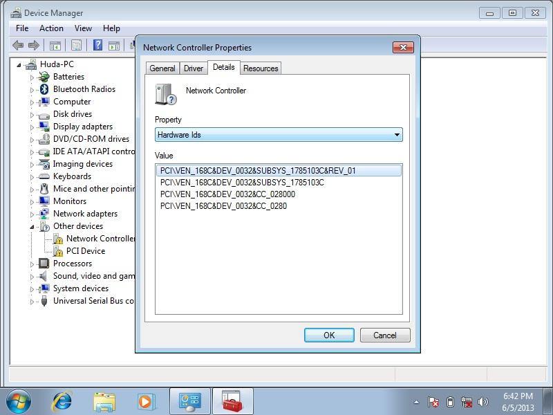 controlador ethernet nodb pci