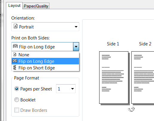 How To Turn Of Two Sided Printing On Photosmart 7520 Hp