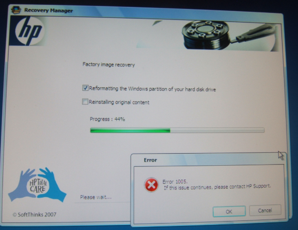 Dv6730ed restore HP Recovery Manager - eehelp com
