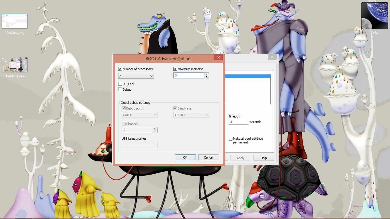After Restart msconfig shows 0 on Max Memory.jpg