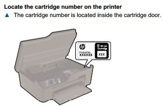 Black original ink cartridge HP 27 won't crack of HP Deskjet