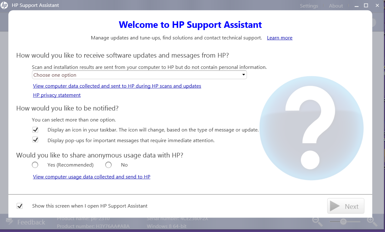HP Support Assistant Upgrade Fatal Error 1316 Or See Windows