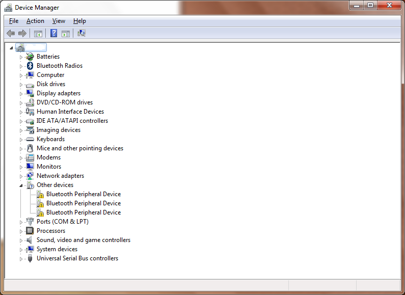 Bluetooth device driver and basic system for win 7 64 bit - eehelp com