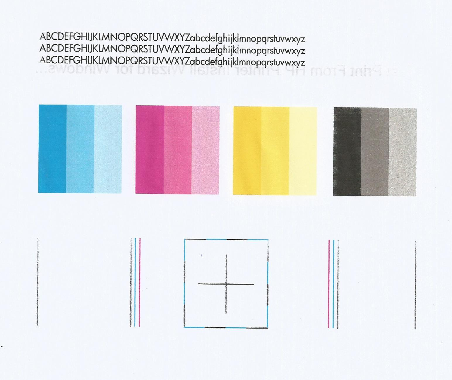 top color printer test page best printer with color laser test page