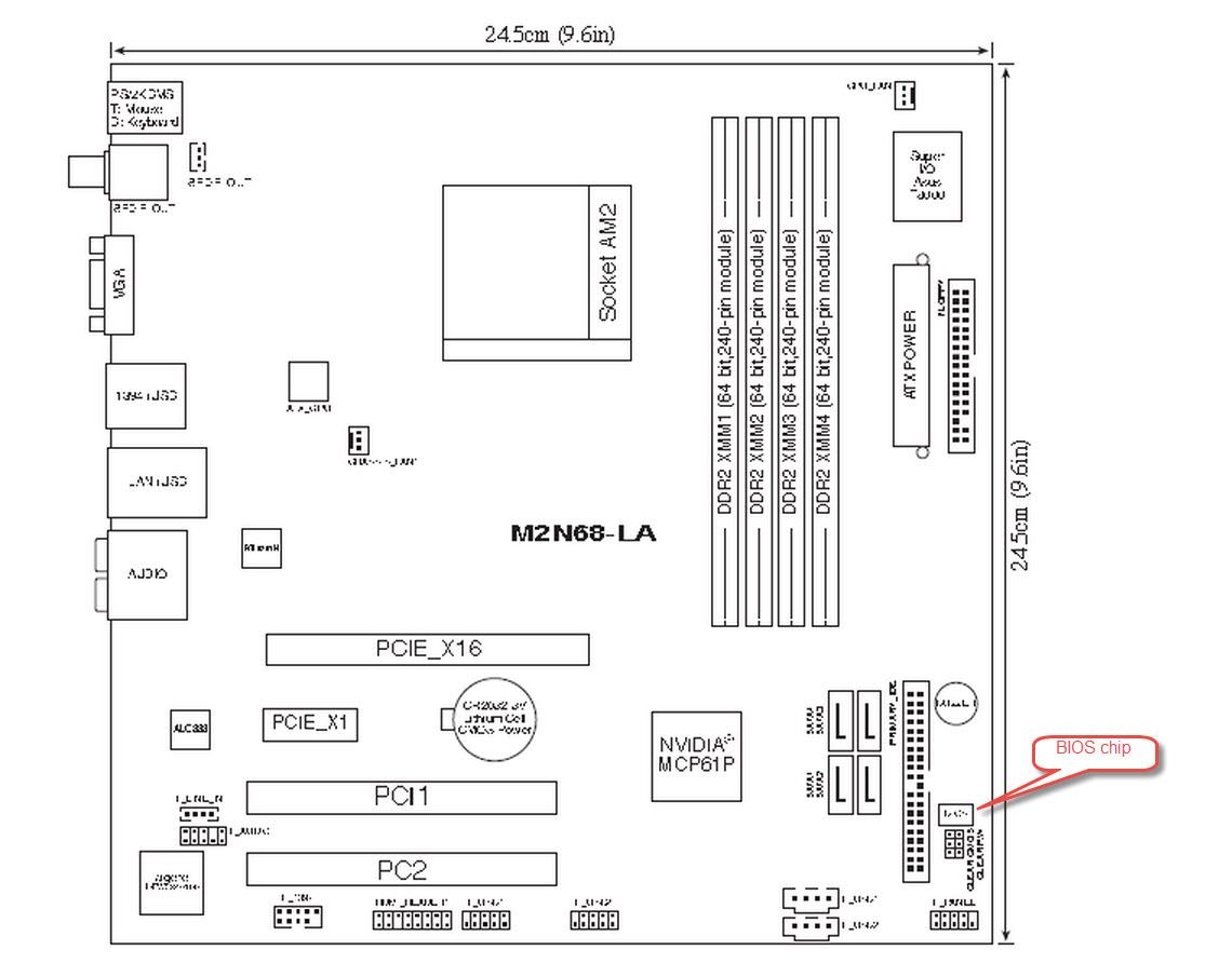 HP zbook 15 G2: the bios chip - eehelp com