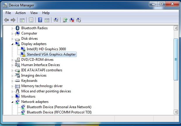 HP Elitebook 8460p: problem with drivers - eehelp com