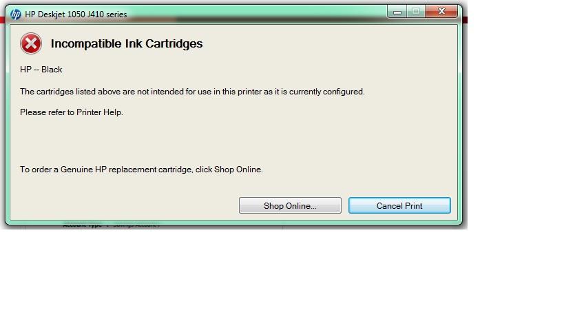 61XL incompatible.jpg